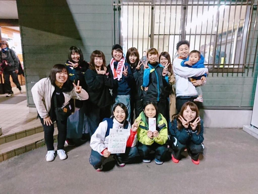 旭川ソフトテニスSTS女子団体メンバー